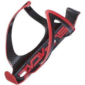 Supacaz Fly Cage Carbon Flaschenhalter rot